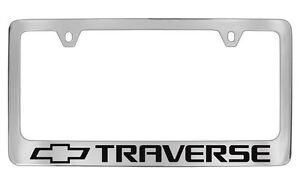 Chevrolet Traverse Chrome Metal license Plate Frame Holder