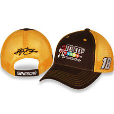 Kyle Busch #18 M&M's Racing 2020 Nascar Sponsor Mesh Adjustable Hat / Cap