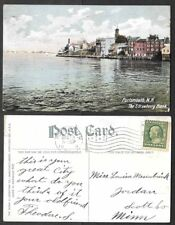 1909 Postcard - Portsmouth, New Hampshire - The Strawberry Bank