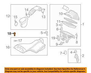 KIA OEM 09-16 Optima Air Cleaner Intake-Box Housing Assy Bolt 281712G640