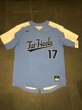 New RARE UNC North Carolina Tar Heels ACC #17 NIKE Baseball Jersey LG