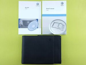 VW CRAFTER (2011 - 2017) Owners Manual / Handbook + Audio Guide + Wallet