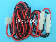 Power Cable DC  for Mobile Radio ICOM Kenwood TM-241 YAESU FT-7800R T Shape US