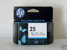HP 25 Tri Colour Printer Inkjet Cart 51625AE Genuine Original Pack Size 1 x2