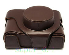 New Leather Camera Case Bag for fuji fujifilm X-10 X-20 Finepix X10 X20