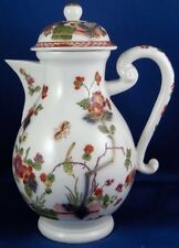 Antique 1725 Meissen Porcelain Kakiemon Indian Flowers Pot 18thC Small Coffee