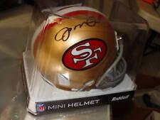 JOE MONTANA HOF SIGNED AUTOGRAPHED CHIEFS NFL 49ERS MINI-HELMET GTSM HOLO COA