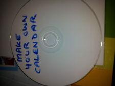 Faites votre propre calendrier cd logiciels jusqu' à 2020