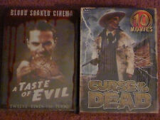 SEALED HORROR MOVIE COMPILATIONS(22 Movies): Curse of the Dead & A Taste of Evil