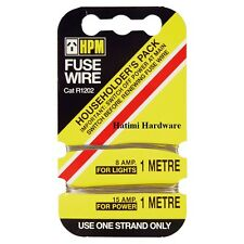 Fuse Wire HPM 8 Amps (For Lights) & 15/16 Amps (For Power) 1Mt CAT R1202