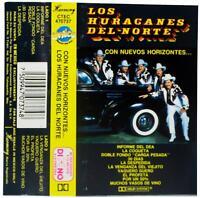 LOS HURACANES DEL NORTE Con Nuevos Horizontes 1992 CASSETTE TAPE 90s Rancheras