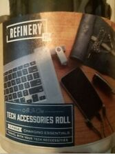 Refinery and Co. 5-piece Charging Essentials Tech Accessories Roll