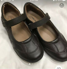 STRIDE RITE GIRLS BROWN LEATHER SHOES SIZE 2.5W.