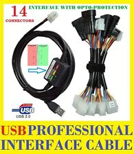 NEW USB 2.0 LPG interface cable with OPTO protection - 14 CONNECTORS