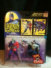 "1995 Kenner Legends of Batman Pirate Batman and Two Face  5"" Action Figure"
