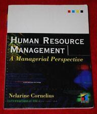 Human Resource Management: A Managerial Perspective-Nelarine Cornelius