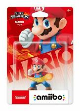 Nintendo Mario Amiibo - Super Smash Bros - Brand New - Free Shipping!