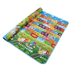 Reversible Kids Activity Mat Baby Children Crawling Care Play Mat Foam Rug 2Side