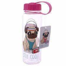 """Kunststoff Wasserflasche 500 ml MOPS """"stay cool"""" Trinkflasche Flasche türkis NEU"""