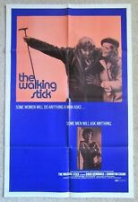WALKING STICK ORIGINAL 1970 1SHT MOVIE POSTER FLD DAVID HEMMINGS EX