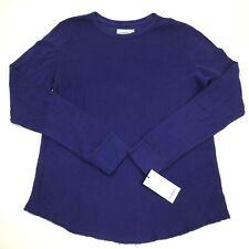 New GOODFELLOW Thermal under shirt Long Sleeve Medium Waffle Blue Layering