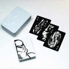 Collectable Star Wars Playing Cards Stormtrooper Embossed Tin *OFFICIAL PRODUCT