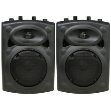 Qtx Sound Qr8 passif ABS Haut parleur Fête Disco DJ Moniteur Haut-parleur Paire