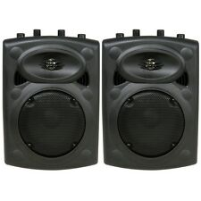 QTX Sound QR8 Passive ABS Speakers Party Disco DJ PA Monitor Speakers PAIR QR-8
