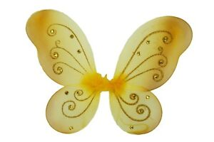 """1 - ( 17"""" x 13"""" ) Butterfly Fairy Costume KID WINGS CHOOSE Color"""