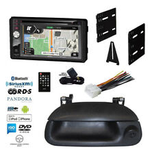 GPS Navigation Stereo+Heritage Backup Camera+99-04 Ford F-Series Radio Dash Kit