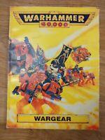Warhammer 40k 2nd Edition Wargear Supplement Book 1993 VGC GW - Free P&P