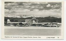 Douglas DC 4 aviation/aircraft/airplane/aeroplane/airline/Stapleton airport