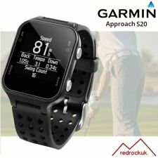 Garmin Approach S20 GPS Golf Watch with 40,000 Worldwide Courses - Black