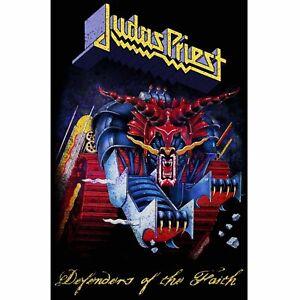 Judas Priest Defenders Of The Faith Poster Flag Official Fabric Premium Textile