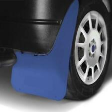 LARGE Wide BLUE Mud Flaps Splash Guards fits SSANGYONG MUSSO (MF3)