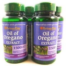 4X Oil Of Oregano 1500 mg 90 Softgels Antibiotic