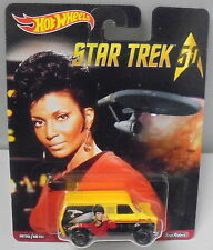 KKar Hot Wheels - 2016 Pop Culture - Star Trek 50 - Ford Transit - Yellow