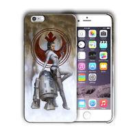 Star Wars BB-8 Rey Iphone 4s 5 SE 6 7 8 X XS Max XR 11 Pro Plus Case n59