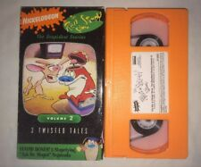 Ren & Stimpy - The Stupidest Stories: Vol. 2 (VHS, 1993) Nickelodeon RARE