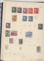 belgium  stamps page ref 18065