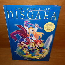 THE WORLD OF DISGAEA HARDCOVER BOOK: CHARACTER COLLECTION ART BY TAKEHITO HARADA