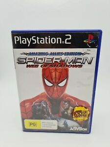 SPIDER-MAN: WEB OF SHADOWS (AMAZING ALLIES EDITION)   SONY PS2   PAL   COMPLETE