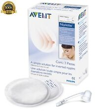 New Philips AVENT Twin Pack Nipplette Gentle Suction Breast Shell Breastfeeding