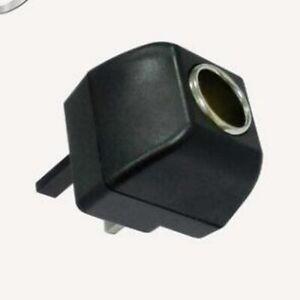 Cigarette Lighter Socket 240V Mains Plug to 12V 6W Car Charger Power Adapter UK