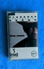 CLARENCE GATEMOUTH BROWN The Man Cassette Tape 1994 Blues Verve