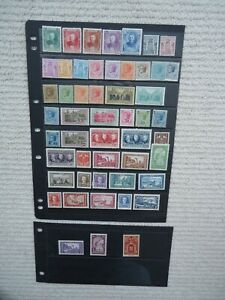Collection of 51X 1923-1940 Monaco stamps. Mounted mint / MH.