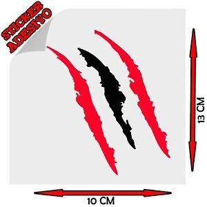 Sticker Adesivo Ngjitës Decal Graffio Gërvishtje Artigli Claw Albania Shqiperia