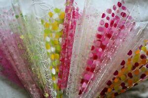Cellophane Wrap 5 /10 /20 mtr roll / 50cm / 2 mtr sheet Many Designs Cello Gift