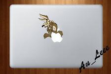 Macbook Air Pro Vinyl Skin Sticker Decal - Cartoon Coyote Tunes 2  #cmac262