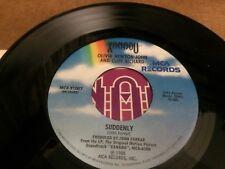 OLIVIA NEWTON JOHN CLIFF RICHARD SUDDENLY  PIC SLEEVE  45 RPM VINYL  7 V